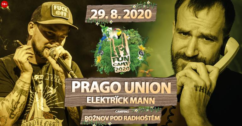 Prago Union a Elektrick Mann se utkají v rožnovském kempu