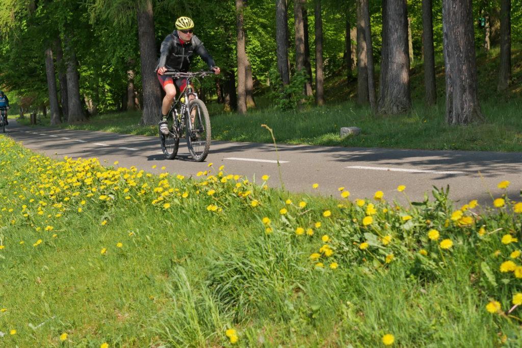 cyklotrasa rožnov- pustevny - rožnov