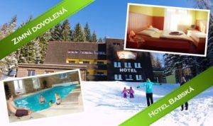 Zima v Beskydech v hotelu Babská