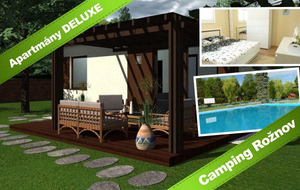 Nové apartmány v Rožnově s bazénem