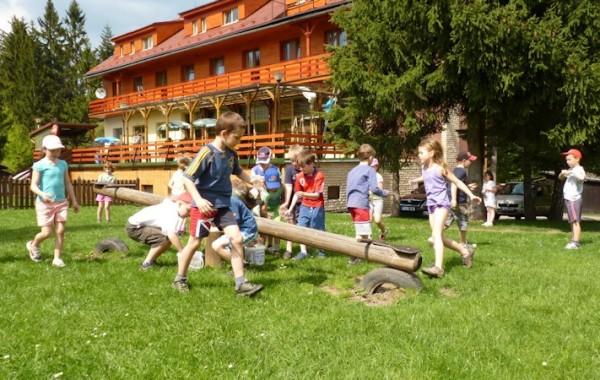 Škola v přírodě v Beskydech na hotelu Cherry