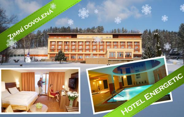 Zima na Valašsku v hotelu Energetic