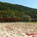 Hřiště beachvoleyball
