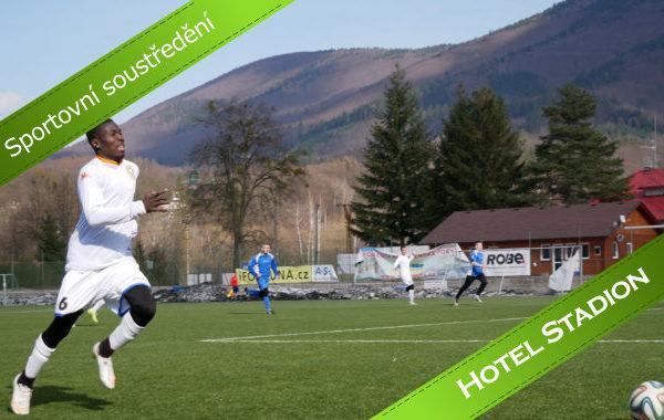 Sportovní soustředění na hotelu Stadion
