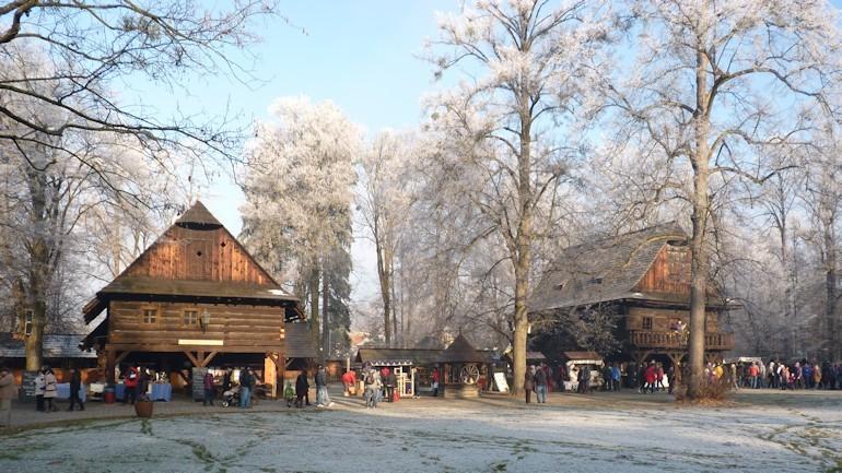 Vánoční jarmark ve Valašském muzeu