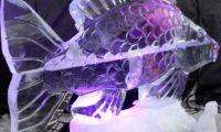Ledové sochy na Pustevnách 2016