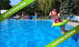 Letní dovolená v kempu s bazénem