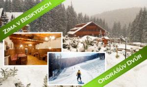 Zima v Beskydech v Ondrášově dvoře
