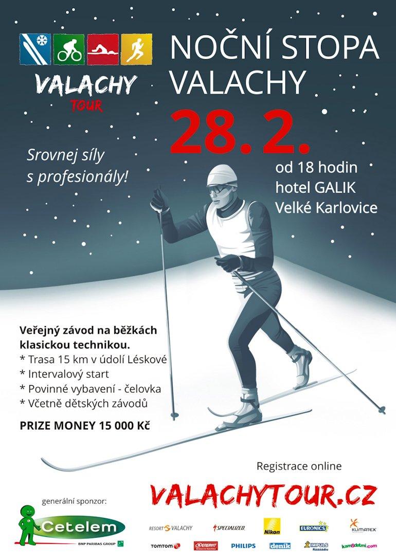 Plakát noční stopa Valachy