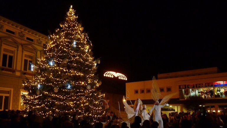 Rozsvícení Vánočního stromečku v Rožnově pod Radhoštěm
