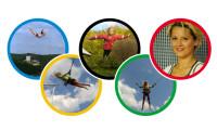 Podzimní trampolínový kurz v Campingu Rožnov